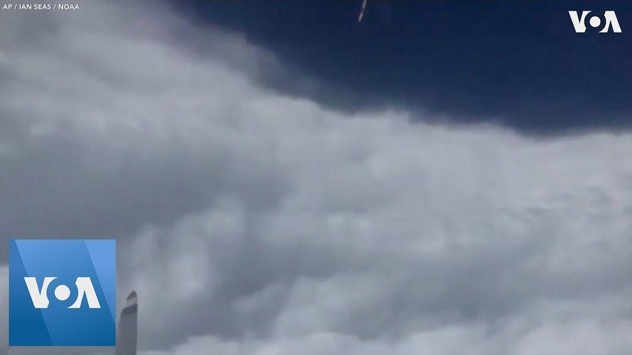 Footage Shot Inside Eye of Hurricane Dorian