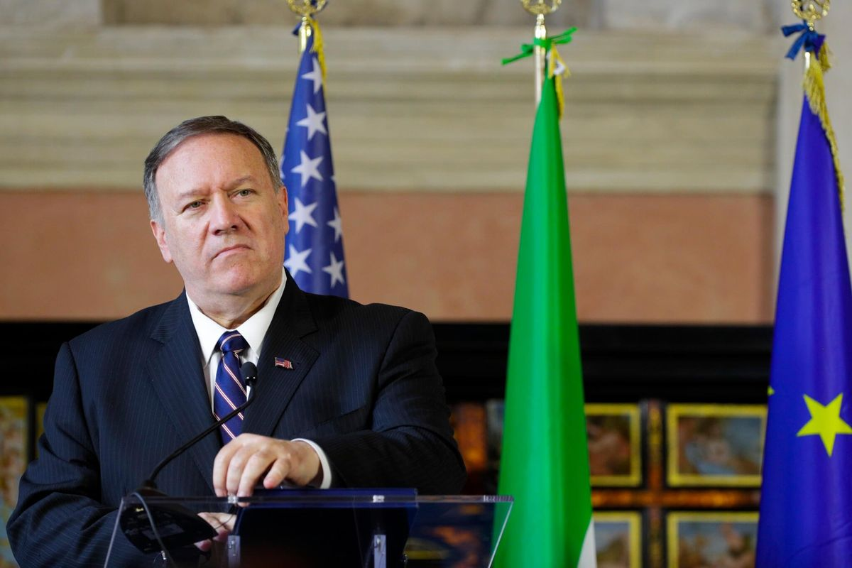 Pompeo Admits He Was on Call that Led to Impeachment Probe of Trump