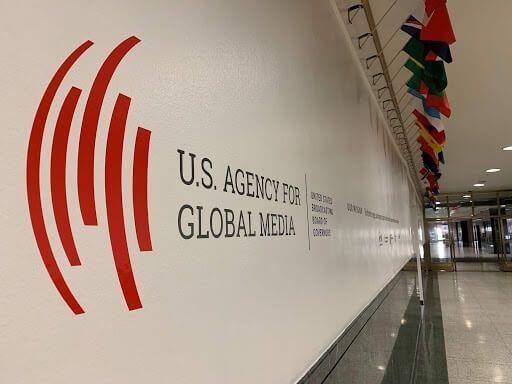 U.S. Agency for Global Media logo