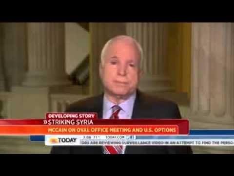 John McCain: Syria action 'may be doomed to failure'