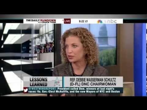 Debbie Wasserman Schultz on elections