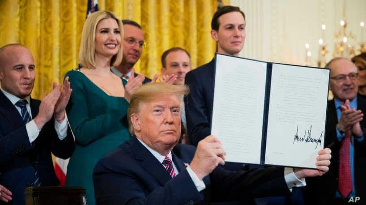 Trump Signs Executive Order Aimed at Combating Campus Anti-Semitism