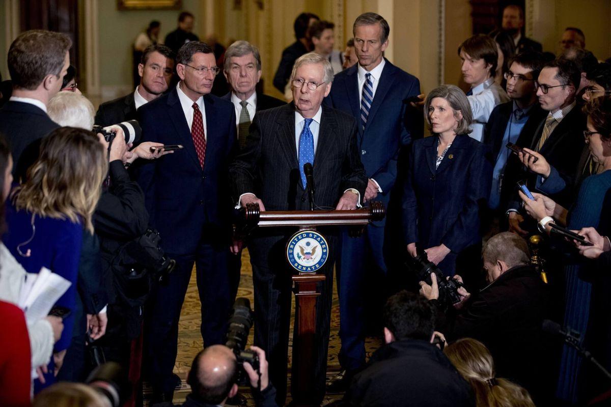 Republican-Led Senate Poised to be Trump's Savior