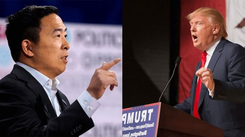 Andrew Yang blames Trump for Dems' Iowa Caucus disaster