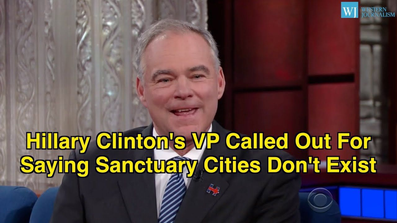 Hillary Clinton's VP Called Out For Saying Sanctuary Cities Don't Exist