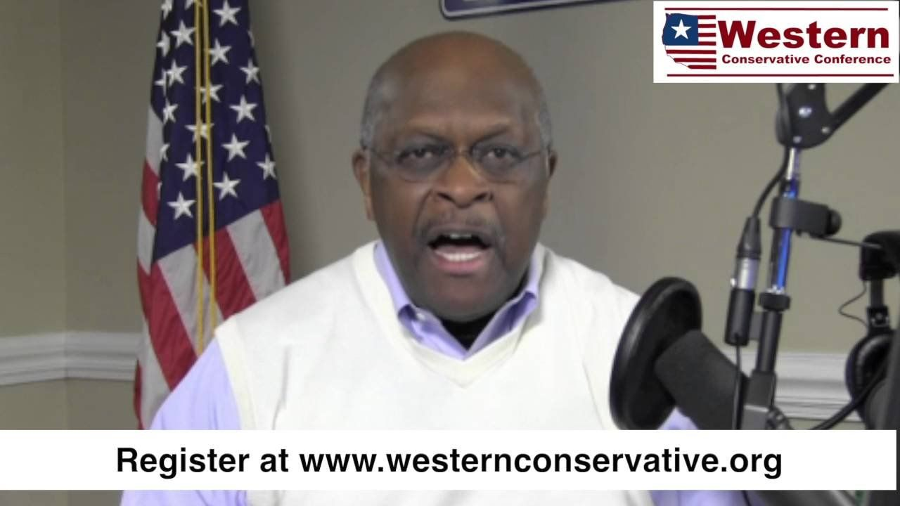 Herman Cain Invites You To The 2016 Western Conservative Conference