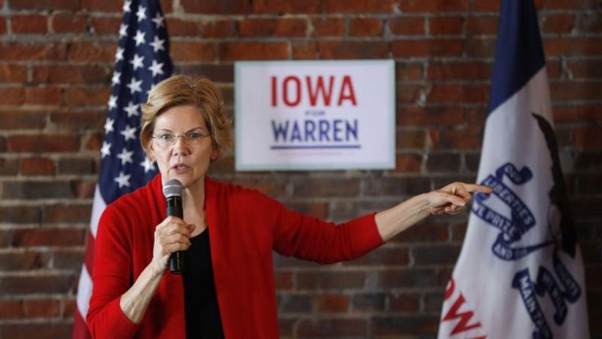 Warren: Tech Giants Have `Too Much Power,' Need Breakup