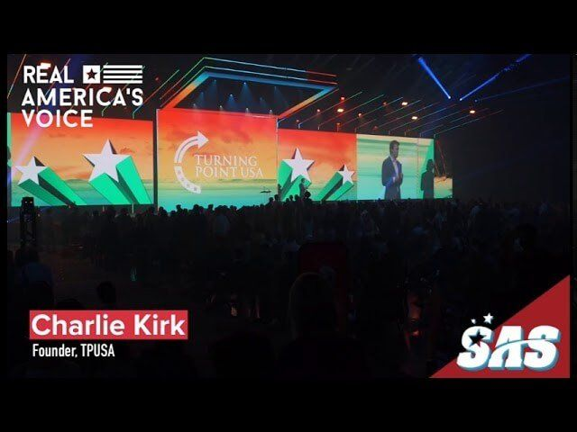 Charlie Kirk – Our constitutional rights given to us by GOD.