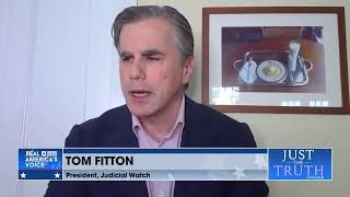 Tom Fitton asks if the left and big tech are silencing questions about election integrity