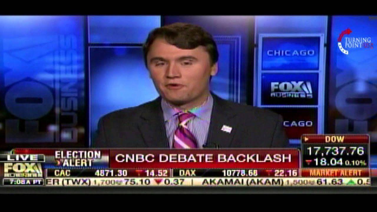 Charlie Kirk on Fox Business