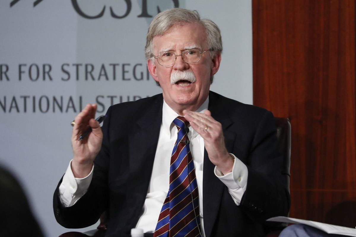 Bolton: Twitter 'Liberated' His Account from White House