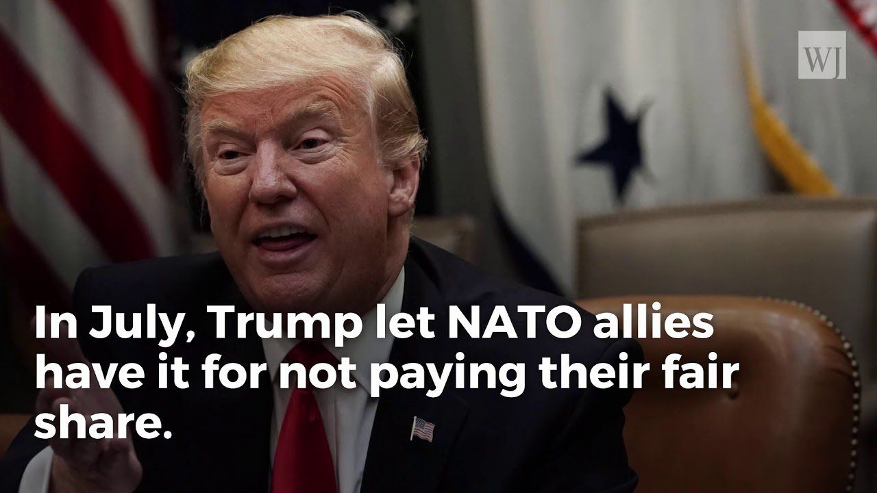 1 Word Trump Used Leaves NATO Scrambling to Pay Their Fair Share