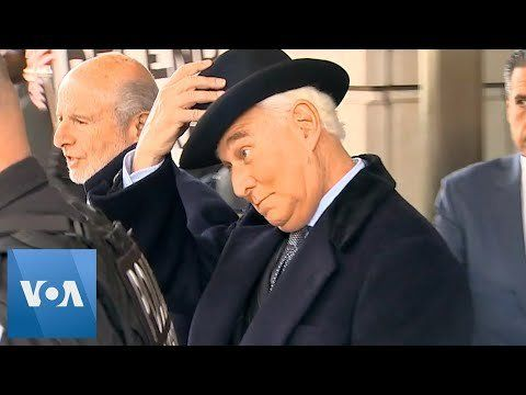 Roger Stone Leaves Federal Court