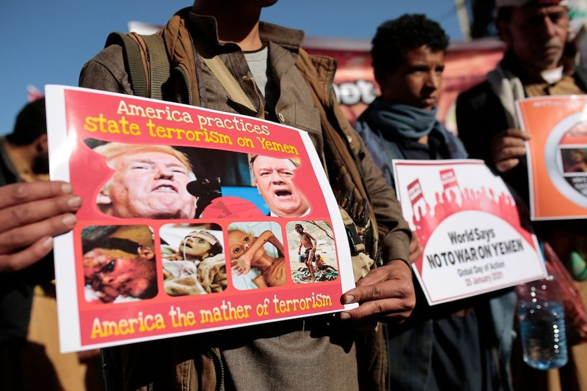US to Revoke Terrorist Designation of Yemen's Houthis Due to Famine