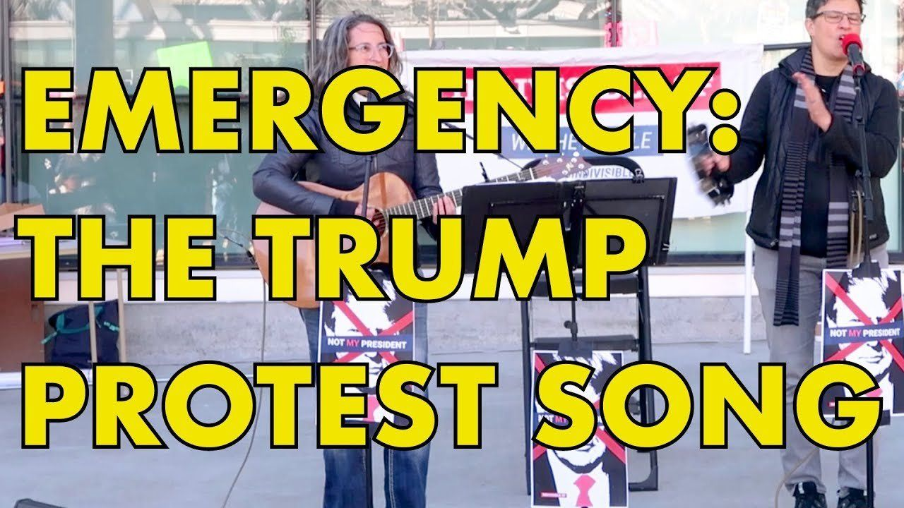 NATIONAL EMERGENCY: The Trump Protest Song