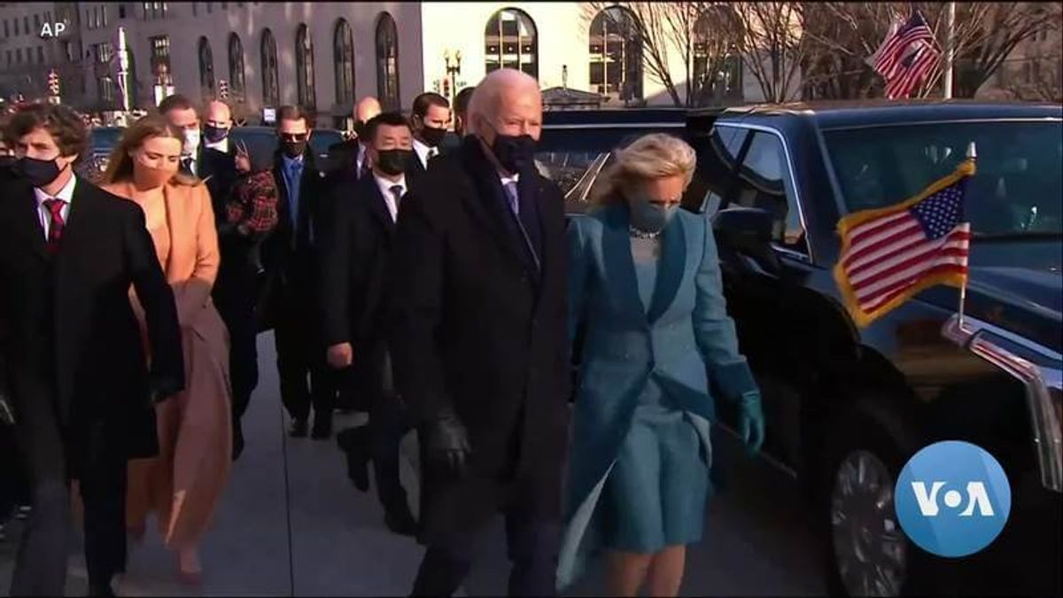 Dr. Jill Biden Steps Into First Lady Role