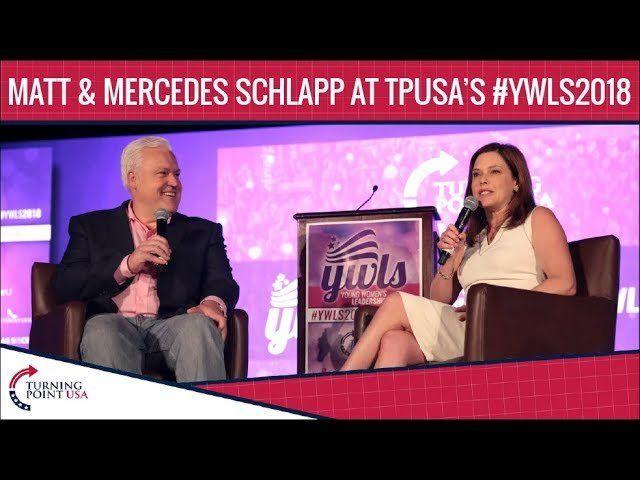 Matt And Mercedes Schlapp At TPUSA's Young Women's Leadership Summit 2018