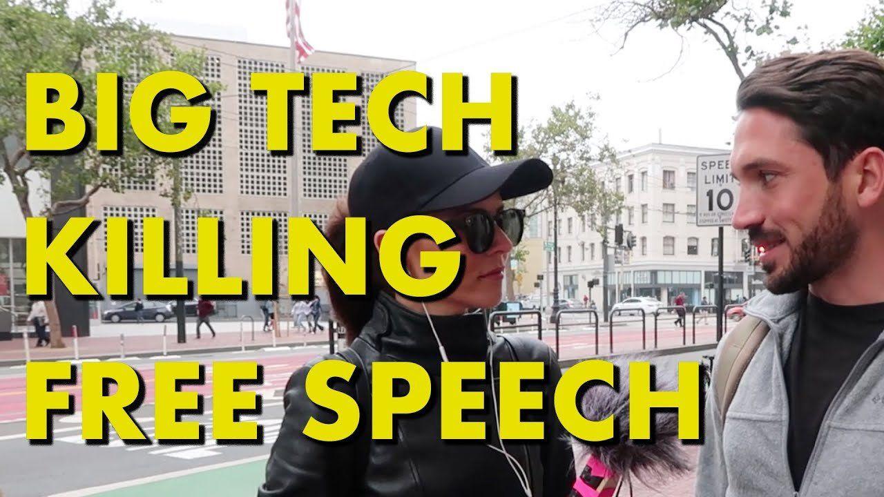 Is Big Tech killing free speech?
