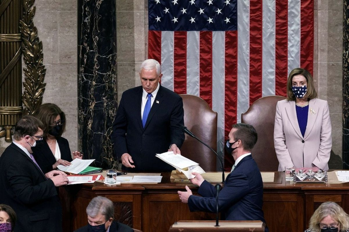 Feds Arrest UCLA Student Accused of Sitting in Pence's Chair During Capitol Riot