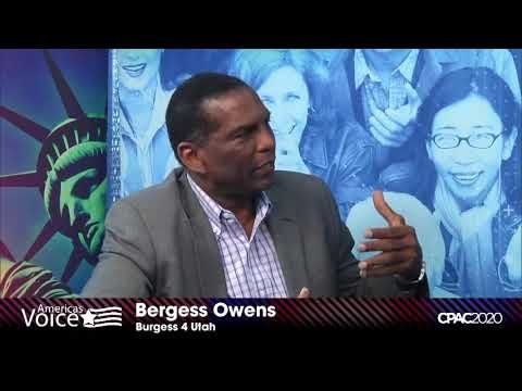 CPAC MIKE GAROFALO SPEAKS WITH BURGESS OWENS ABOUT HIS RUN FOR CONGRESS
