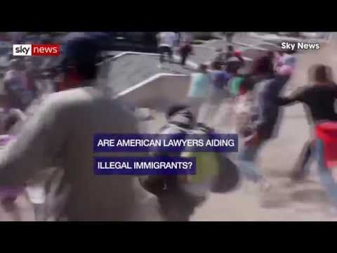 Are American Lawyers Aiding Illegal Immigrants in Mexico?