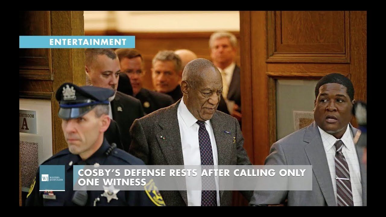 Cosby's Defense Rests After Calling Only One Witness