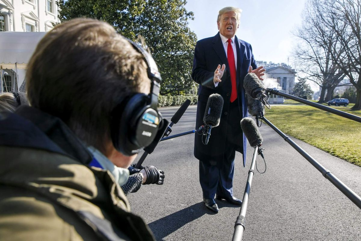 Trump: If Partial Truce Holds, 'I Would Put My Name' on Taliban Peace Deal