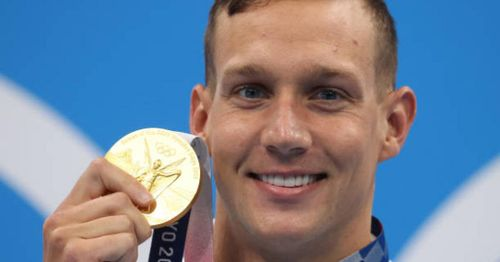 Americans make impressive splash in Olympic pool, including five gold medals for Caeleb Dressel