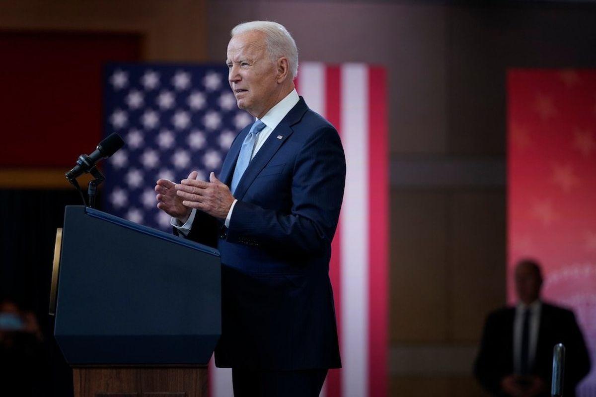 Biden Delivers Speech on Voting Rights in Philadelphia