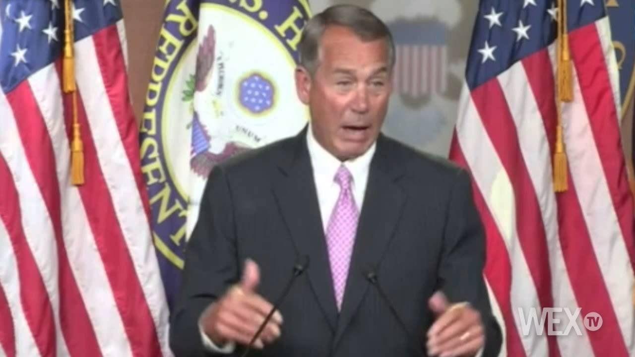 John Boehner: I'm not the establishment