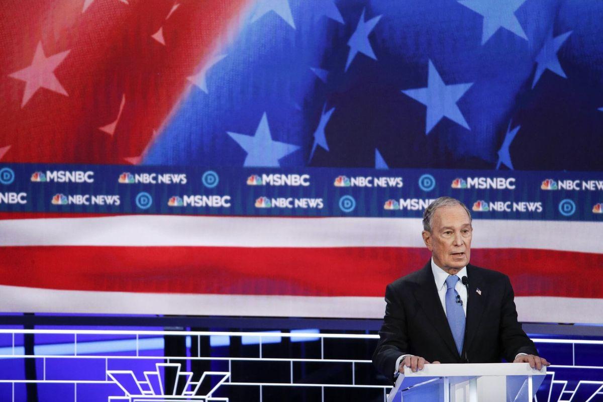 Bloomberg Targeted at Democratic Presidential Debate