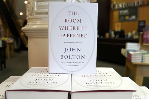 Lawyer: US Drops Lawsuit, Grand Jury Probe Over Bolton Book