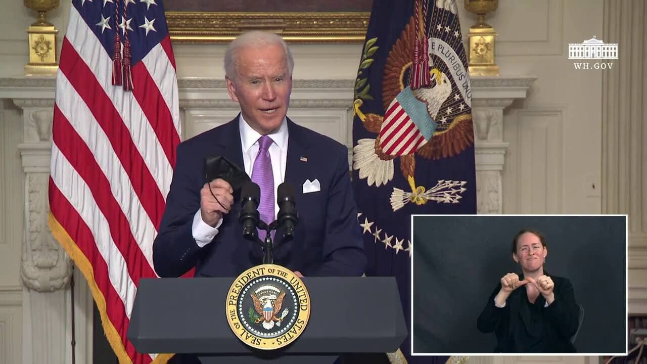 President Biden Delivers Remarks on the Fight to Contain the COVID-19 Pandemic
