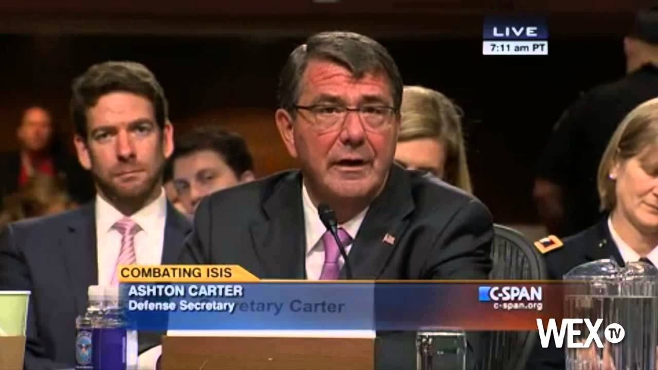 McCain, Carter have heated exchange during Islamic State hearing