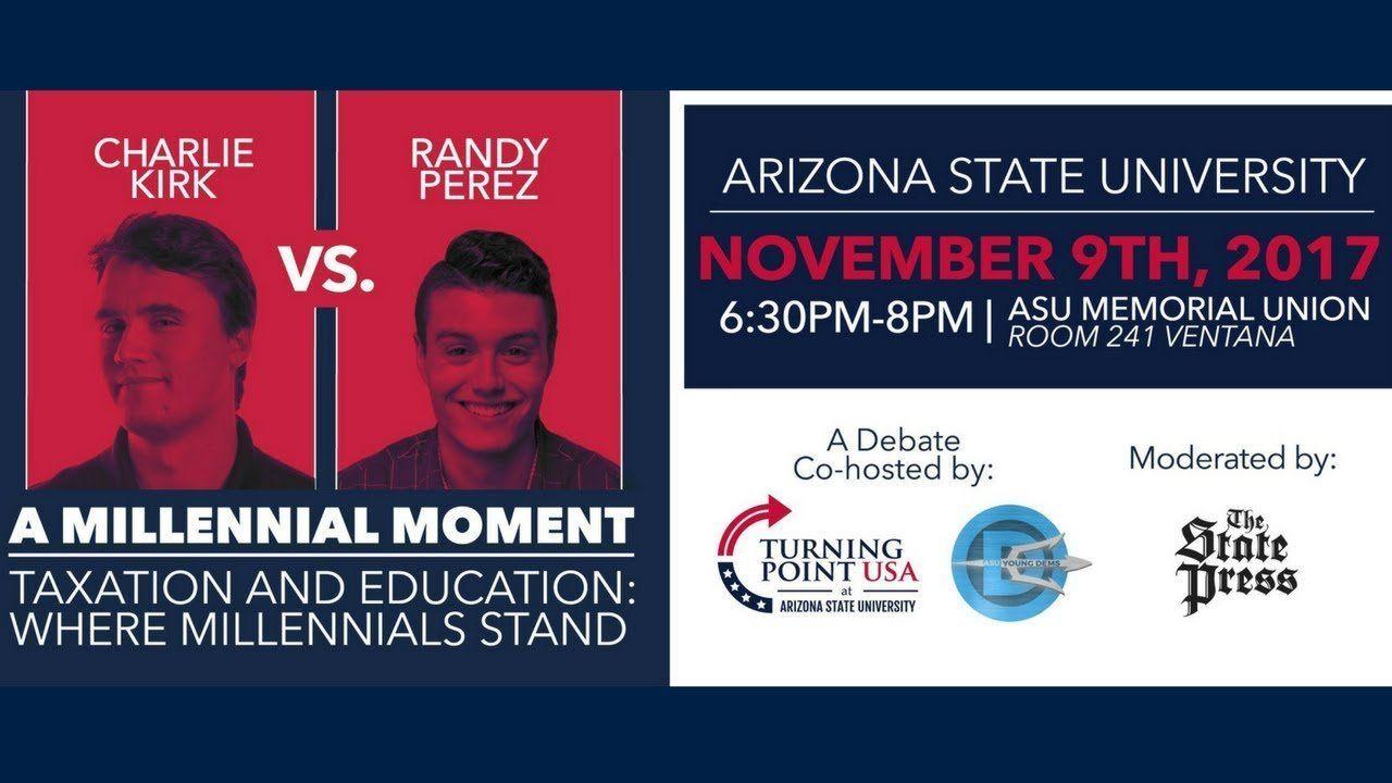 A Millennial Moment Debate At Arizona State University