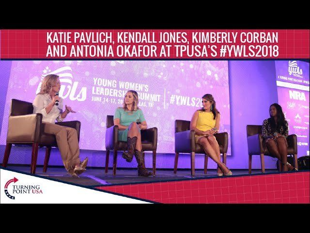 Katie, Kendall, Kimberly, And Antonia At TPUSA's Young Women's Leadership Summit 2018