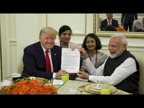 President Trump & the First Lady Visit India – Day 2