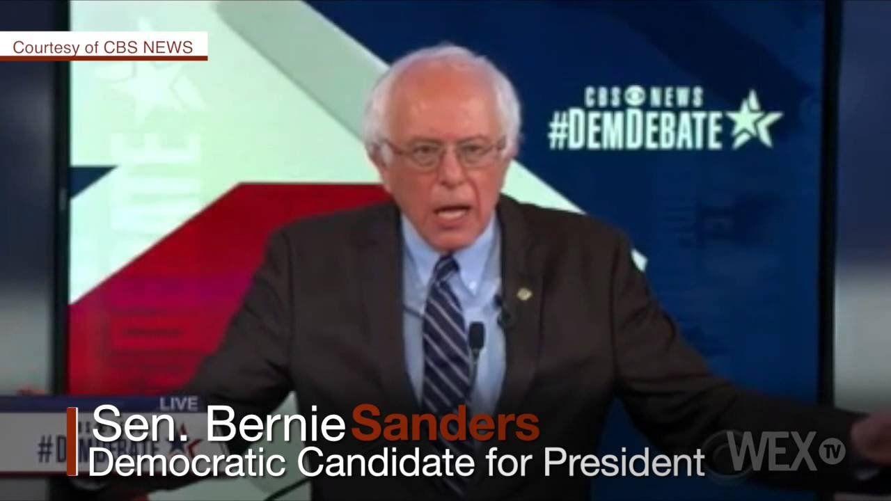 Sanders: Wall Street's model is greed and fraud