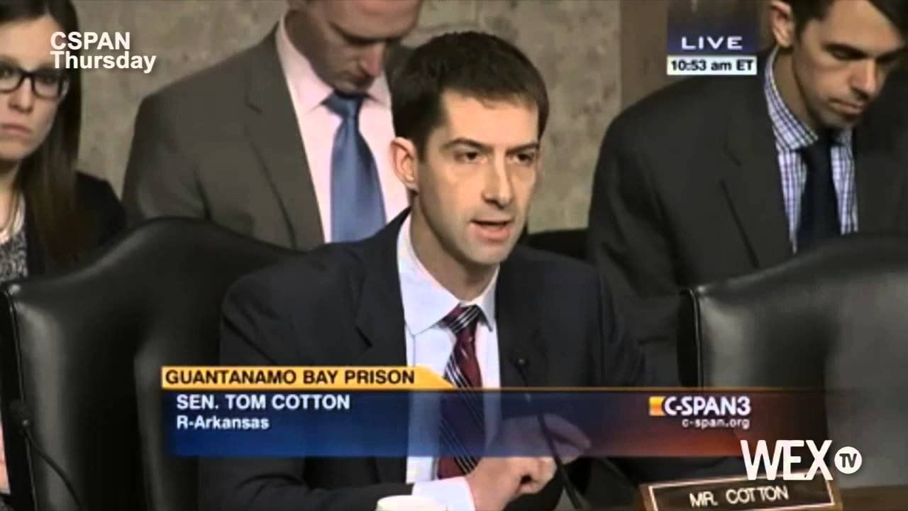 Tom Cotton wants to put more terrorists at Guantanamo