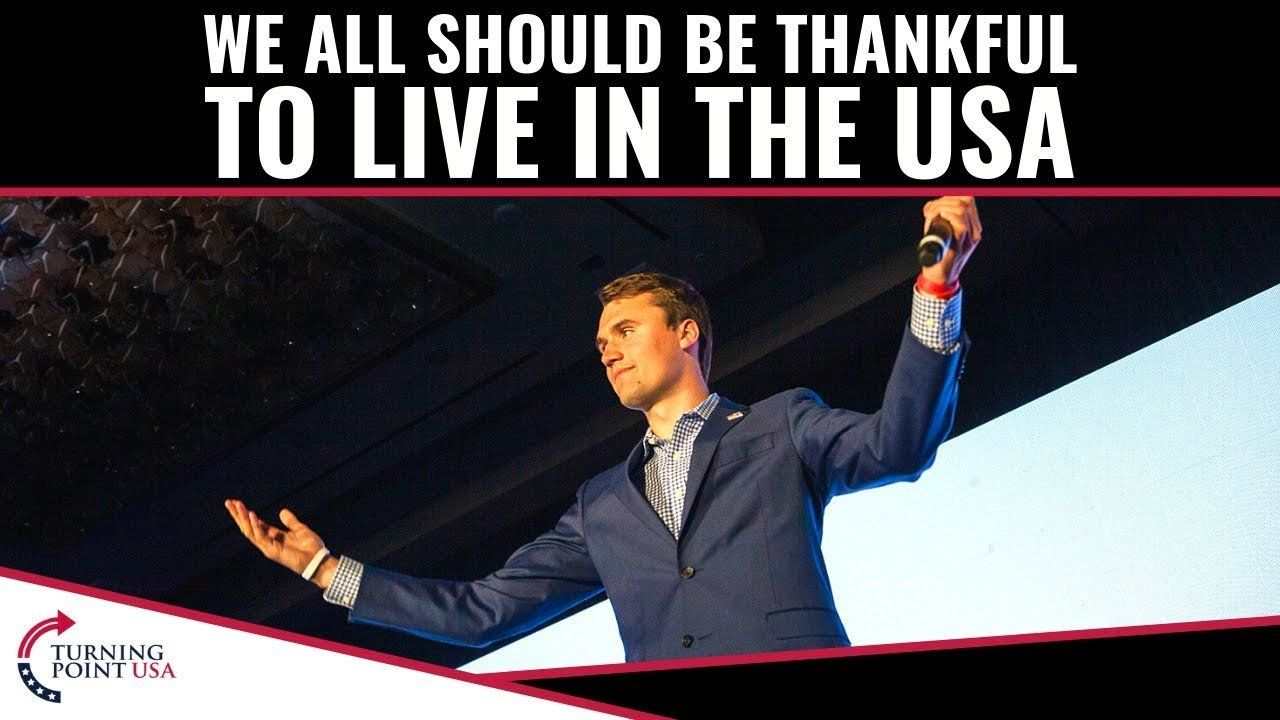We All Should Be Thankful To Live In The USA!