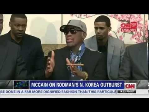 John McCain blasts Dennis Rodman