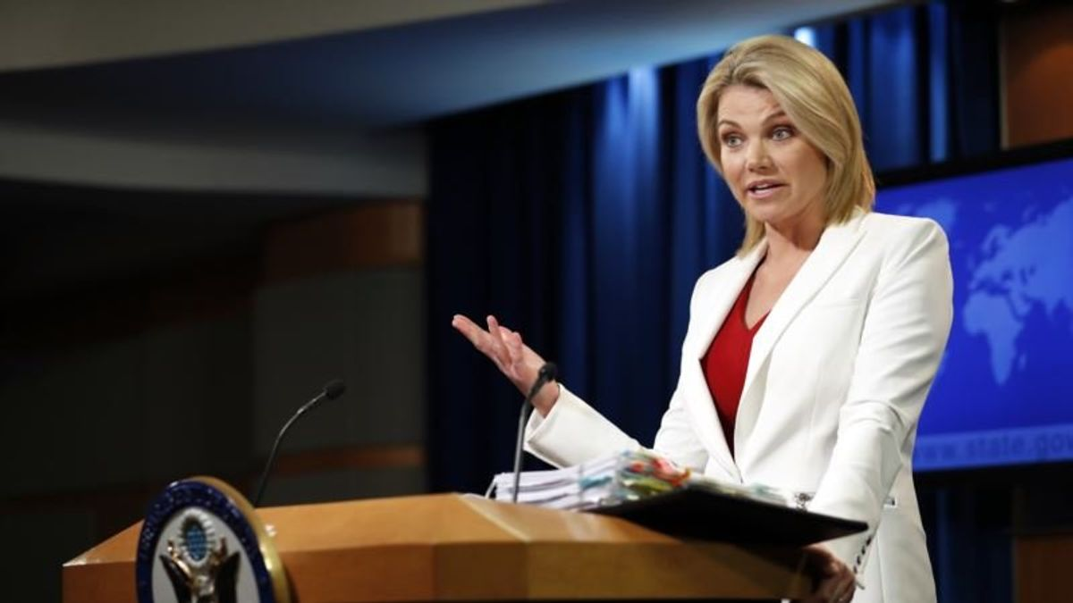 Reports: Trump to Name State Department's Nauert as UN Ambassador