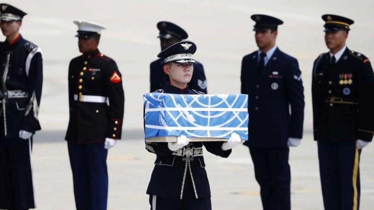 Trump Thanks North Korea for Return of US War Remains