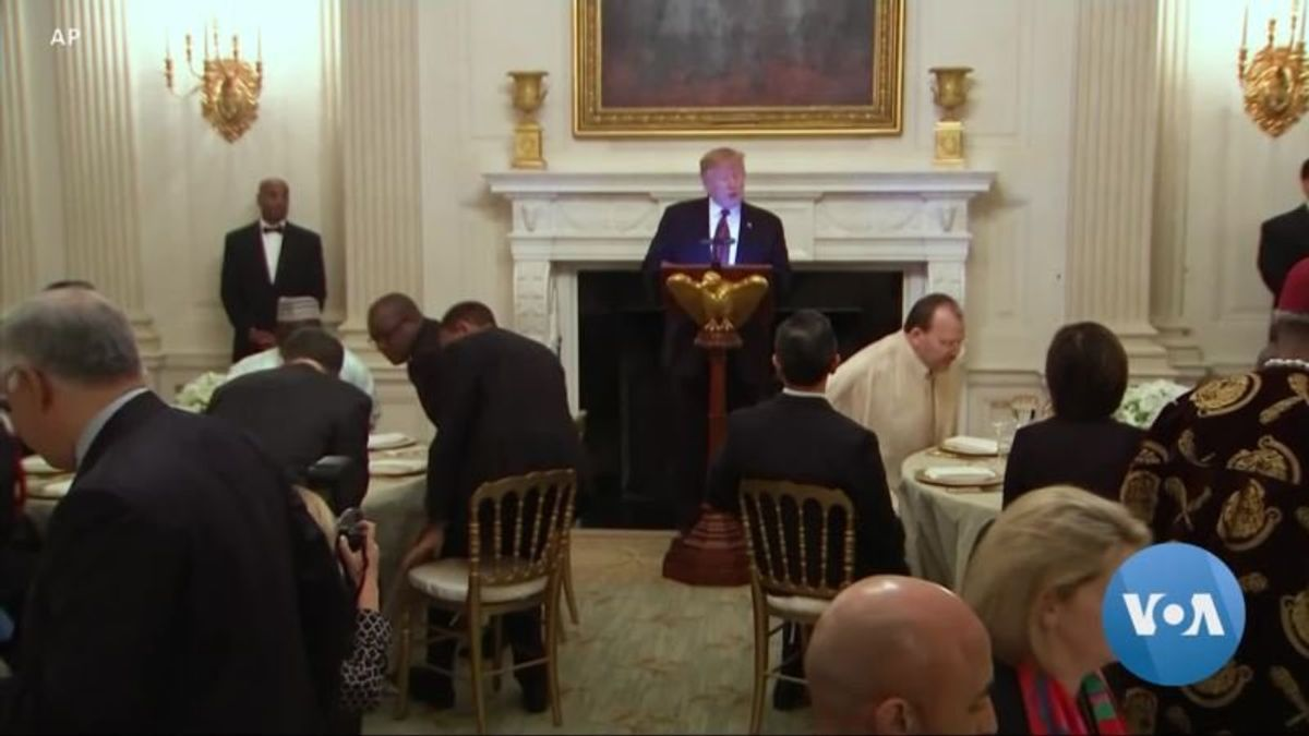 Another White House Iftar Without US Muslim Organizations