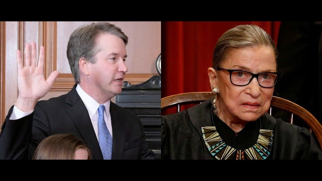 HOW RUDE!  Ginsburg Disses Kavanaugh Family During Trump White House Swearing in Ceremony!