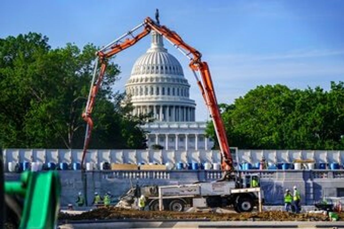 White House's New, $1.7T Infrastructure Offer Panned by GOP