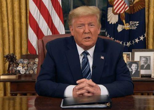 Trump Suspends Travel from Europe Amid Coronavirus Scare