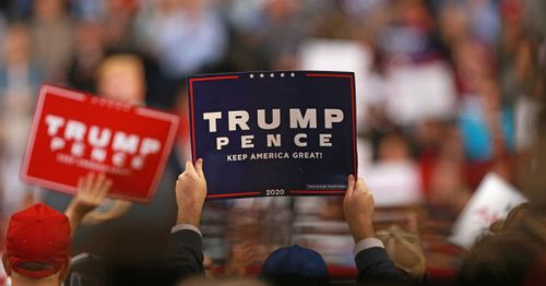 """Flag-flying Trump supporter sues Long Beach: 'I believe the city is trying to silence me"""""""