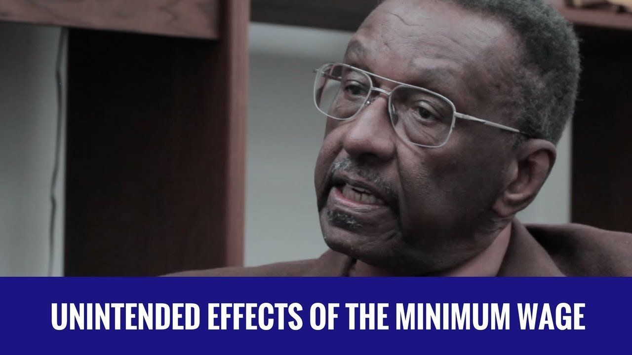 Walter Williams: The Minimum Wage