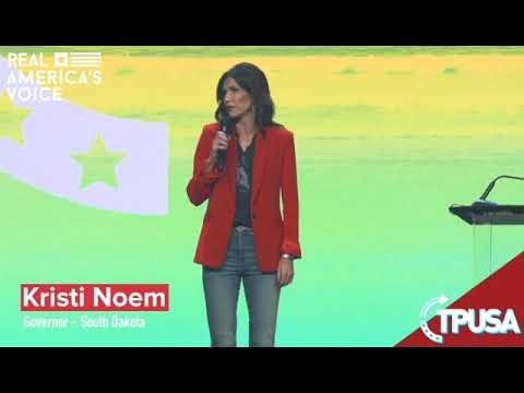 Kristi Noem – We never once closed a single business!